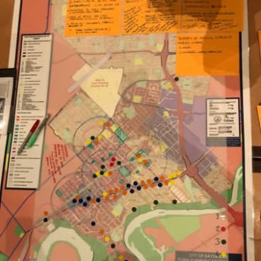 The community planning process.