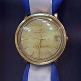 The watch that was recovered in a secret operation and brought back to Israel.