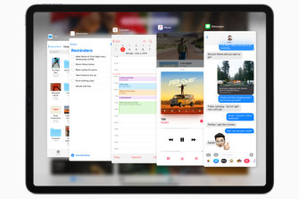 Better multitasking is one of the new features that brings the iPad closer to being a laptop replacement.