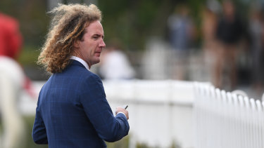 Trainer Ciaron Maher saluted with ex-Darren Weir stayer Yogi in the first race of Caulfield Stakes Day.