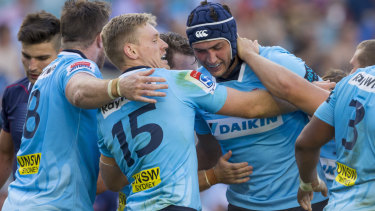Rob Simmons has enjoyed a mid-career revival at the Waratahs over the past two seasons.