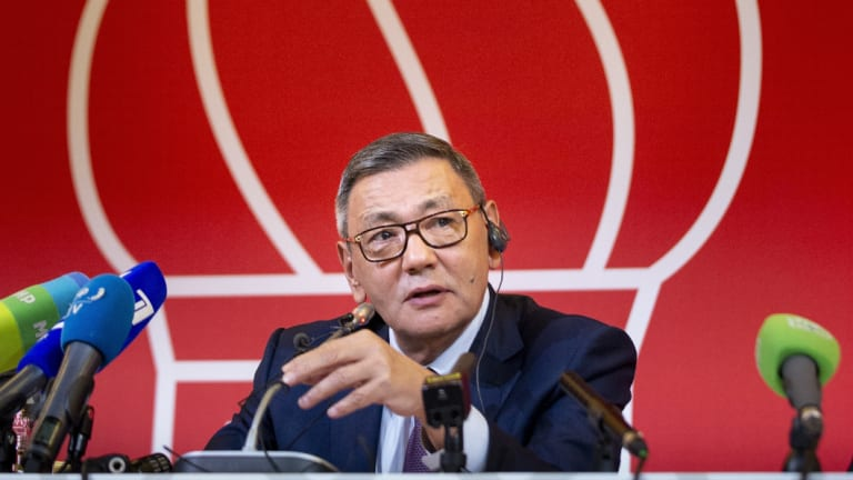 The new president of the amateur boxing federation Gafur Rakhimov.