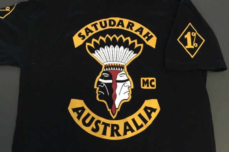 The Satudarah rocker patch and colours.