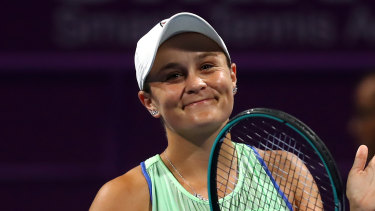 Ashleigh Barty will present the premiership cup if Richmond win.