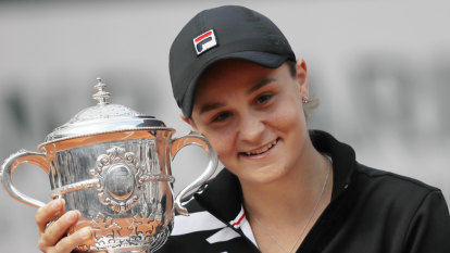 Barty named Australian sports woman of the year