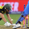 Disastrous collapse sees Australia suffer shock loss in T20 World Cup opener