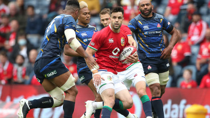 Lions begin campaign with win over Japan but lose captain to injury