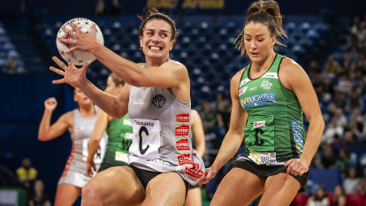 Brazill hoping for Super Netball title as Magpies make their push