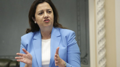'Absolutely ridiculous': Palaszczuk scolds NSW over $30 million bill