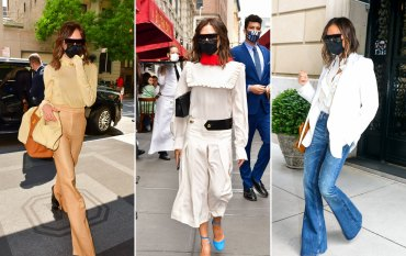 Victoria Beckham:  'I used to get criticised for wearing the same thing twice. Not now'