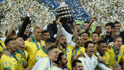 Nearly 70,000 at the Maracana watch Brazil crowned Copa champions
