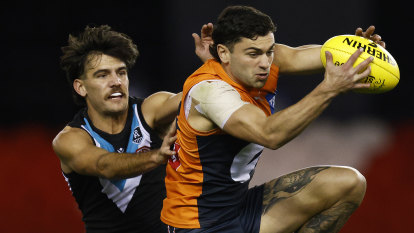 Giants and Swans both suffer blow from Port Adelaide victory