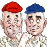 Friendship across the divide as former political foes unite