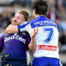 NRL to consider rewarding low tackles as blitz on head contact escalates