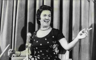 Dame Margaret in 1973.