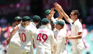 Australia are on top after four days play at the SCG.