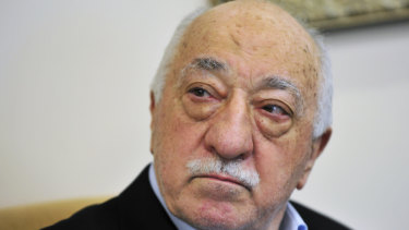 Exiled Islamic cleric Fethullah Gulen, who lives in the US.