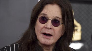 Withdrawn: Ozzy Osbourne.