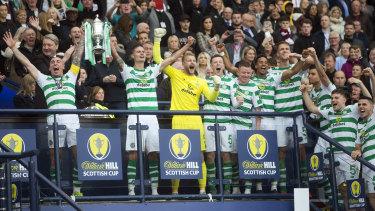 Different level: Celtic have won 51 Scottish league titles.