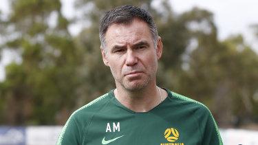 Matildas coach Ante Milicic.