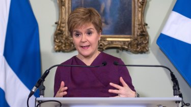 Scottish National Party (SNP) leader and Scotland's First Minister Nicola Sturgeon said schools would close from Friday.