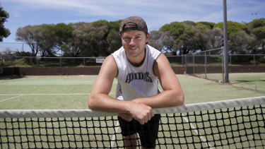 Todd Reid pictured in 2011 at the Matraville Sports Centre in Sydney.