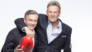 Eddie McGuire and Sam Newman.