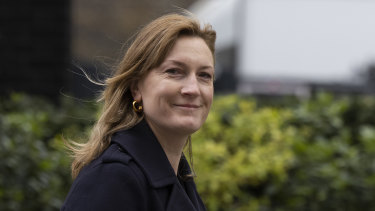 Former Johnson press secretary Allegra Stratton.