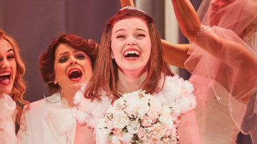 McKenna in her breakout role in Muriel's Wedding.