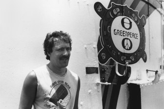 Fernando Pereira, the Greenpeace photographer who died in the bombing of the Rainbow Warrior.