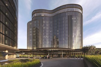 The $130 million Hotel Chadstone Melbourne, MGallery by Sofitel, owned by Vicinity and Gandel.