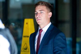 Callan Sinclair is also on trial.