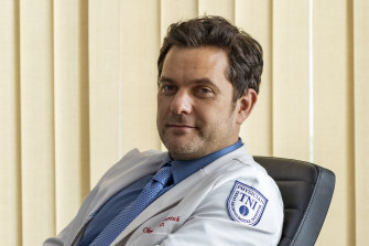 Joshua Jackson as the dubiously credentialed surgeon Dr Christopher Duntsch