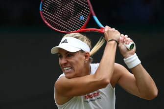 Angelique Kerber knows what it takes to take the Wimbledon crown.