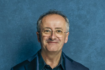 """Andrew Denton was labelled a """"silverback""""."""
