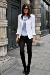 French Vogue editor, Emmanuelle Alt, 51, still at the top of the style game ... and no doubt knows the rules.