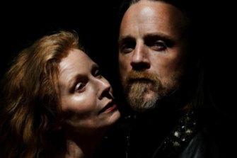 Alison Whyte andNathaniel Dean in Macbeth.
