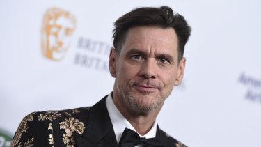 Jim Carrey at the 2018 BAFTA Los Angeles Britannia Awards at the Beverly Hilton.