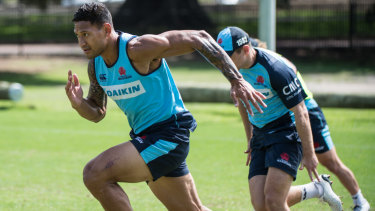 'With great love': Folau is continuing to share his views on social media