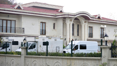 The owner of the luxury rural villa was called by a member of the Khashoggi kill squad, Turkish prosecutors said.