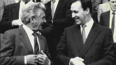 Bob Hawke and Paule Keating ushered in what has become known as neo-liberalism. Saturday's election could end it.