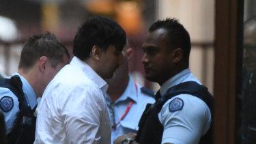James Gargasoulas arrives at the Supreme Court on Wednesday.