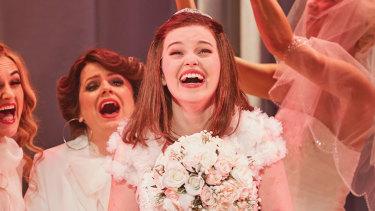 McKenna in her breakout role in Muriel's Wedding.