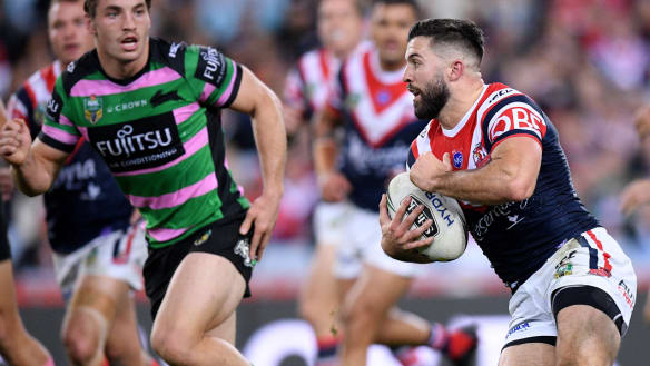 James Tedesco has good reason for ditching long studs