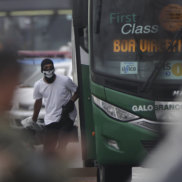 Sniper celebrates after killing man who hijacked bus