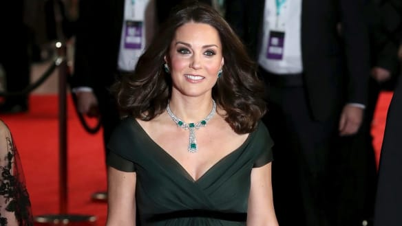 Should Kate have worn black to the BAFTAs?