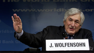 James Wolfensohn, Aussie who led the World Bank for 10 years, dies at 86