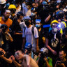 Demands unmet at Hong Kong protests