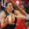 Cambage's Aces fall short in WNBA playoff