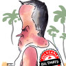 Shorten, holidaying in Bali, phones in to shadow cabinet meeting